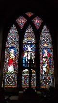 Image for Stained Glass Windows - St Andrew - Peatling Parva, Leicestershire