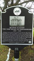 Image for Quaker Academy The Very Heart Of Friendswood 1902 1949 - Friendswood, TX