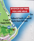Image for YOU ARE HERE - Y Gogarth / The Great Orme - Toll Gate,  Llandudno, Conwy, Wales.