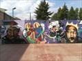 Image for Mural en el Pabellón - Ourense, Galicia, España