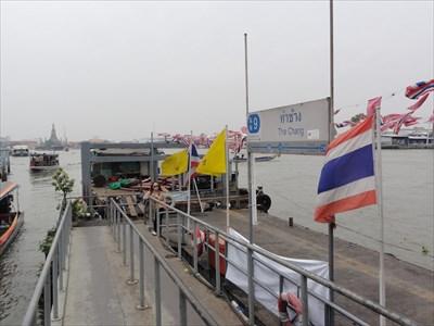 Tha Chang Pier—Bangkok, Thailand  - Ferries and Ferry