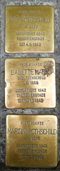 Image for Max & Martin Rothschild, Babette Marx - Bad Cannstatt, Germany, BW