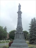 Image for Lewis County Soldiers' and Sailors' Monument - Lowville, New York