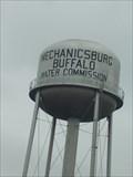 Image for Co-op Water Tower  -  Mechanicsburg-Buffalo, Illinois