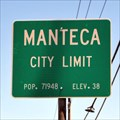 Image for Manteca, CA - Elevation 38 Feet