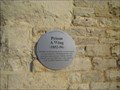 Image for Oxford Prison -  A  Wing  Plaque - Oxon