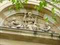 Image for Old library - Relief - Cardiff - Capital of Wales, Great Britain.