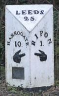 Image for Milestone - Harrogate Road, Ripon, Yorkshire, UK.
