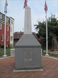 Image for National Road Bicentennial Monument Time Capsule- Cumberland, Maryland