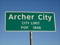 Image for Archer City, TX - Population 1848