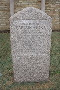 Image for Captain Atoka Historic Marker -- Atoka OK