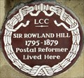 Image for Sir Rowland Hill - Orme Square, London, UK