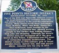 Image for Five Points Historic District
