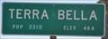 Image for Terra Bella ~ Population 3,466