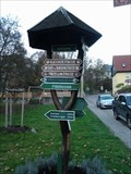 "Image for Distance-arrow ""Am Burgweg"" - Bad Blankenburg, Thuringia, Germany"