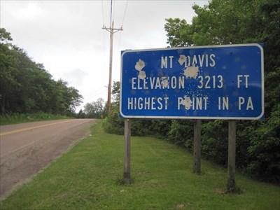 Mount Davis - 3213 ft - Elk Lick, PA