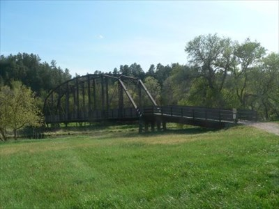 Verdigre Creek Truss Bridge near Valentine, NE