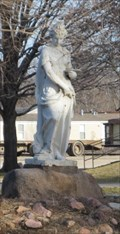 "Image for Columbian Exposition statue ""Art"" -- Wamego KS"