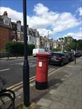 Image for Victorian Pillar Box - Sulusbury Road - London - UK
