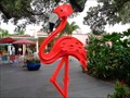 Image for Pink Flamingo - Kinetic Art - Sarasota, Florida, USA.