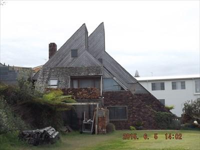 Odd-shaped building - for Australia