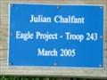 Image for Julian Chalfant - Eagle Scout Project - Crescent Beach, Florida