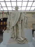 Image for Admiral Sir James Saumarez Statue - National Maritime Museum, Greenwich, London, UK