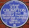 Image for Colonel R E B Crompton - Kensington Court, London, UK