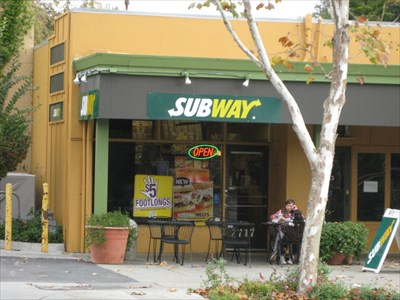 Subway Middlefield Rd Palo Alto Ca Subway Restaurants On
