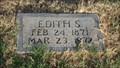 Image for 101 - Edith S. Thompson - Kolb Cemetery - Spencer, OK