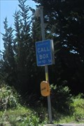 Image for Solar Powered Emergency Phone - Half Moon Bay, CA
