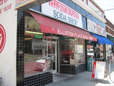 Elliston Place Soda Shop, From the Left, Nashville, Tennessee