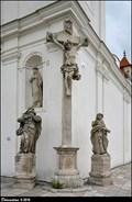 Image for Cross at Convent Church of St. Augustine / Kríž u klášterního kostela Sv. Augustina - Valtice (South Moravia)