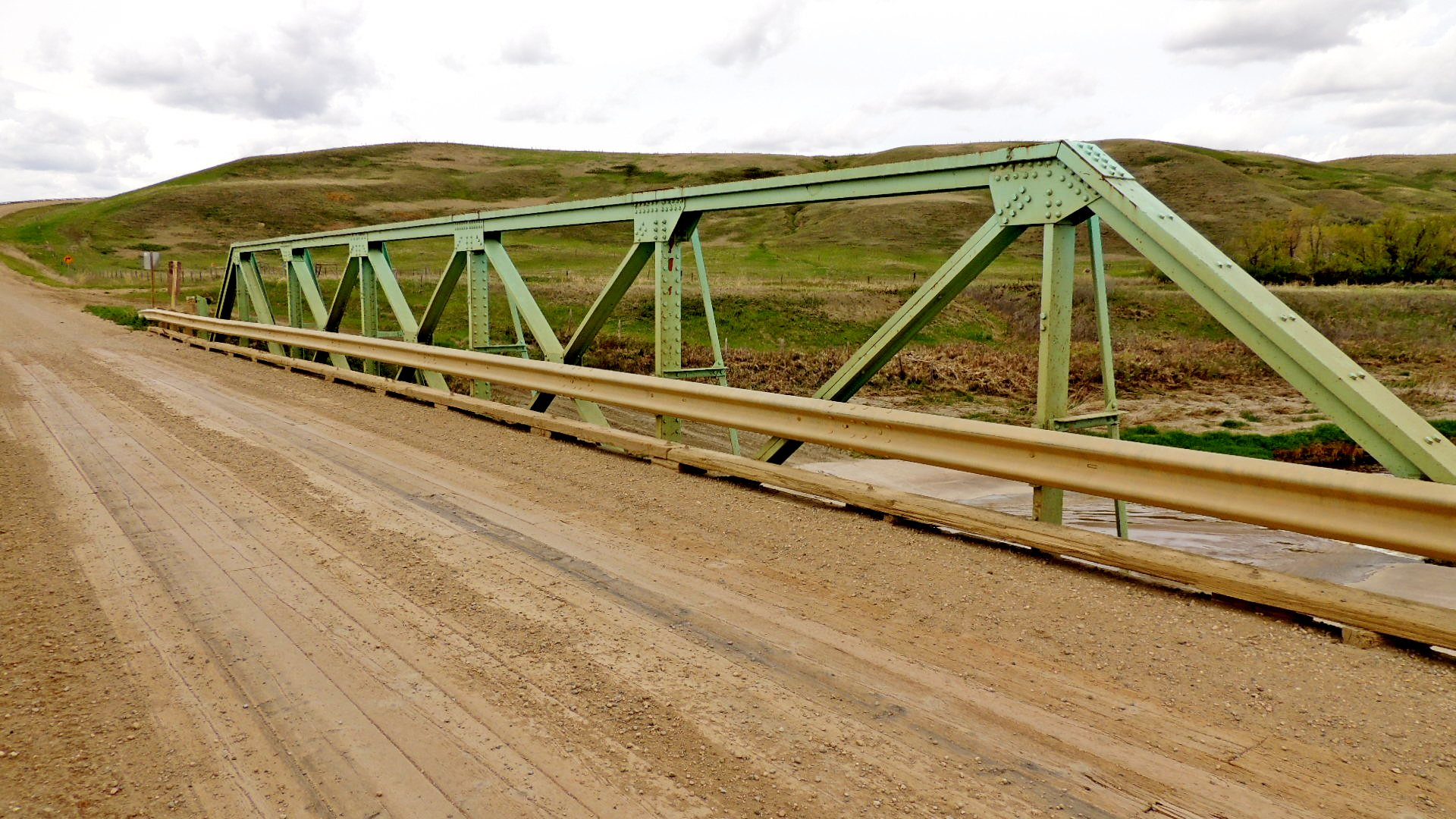 Range Road 224A Truss Bridge