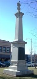 Image for Paola Square Civil War Monument - Paola, Ks.