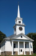 Image for Congregational Church Clock.  New Braintree, MA