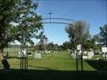 Image for L'Enfant Jesus Cemetery Entrance Arch - Richer MB