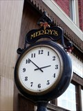 Image for Merry's Street Clock, Linesville, PA