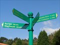 Image for Cwmdonkin Park - Direction Sign - Swansea, Wales.
