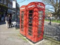 Image for Red Telephone Boxes, High Street, Crawley, West Sussex, England