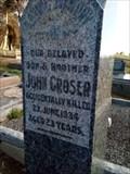 Image for John Croser - Bullaparinga, SA, Australia