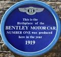 Image for Bentley Motor Car - Chagford Street, London, UK
