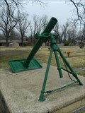 Image for M1 81mm Mortar - Baxter Memorial Gardens - Mountain Home, Ar.
