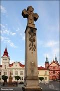 Image for Kríž na Mariánském námestí / Cross at Marian Square (Stará Boleslav)