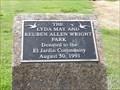 Image for Lyda May and Ruben Alan Wright Park - 1991 - Pasadena, TX