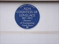 Image for Ada Countess of Lovelace - St James's Square, London, UK