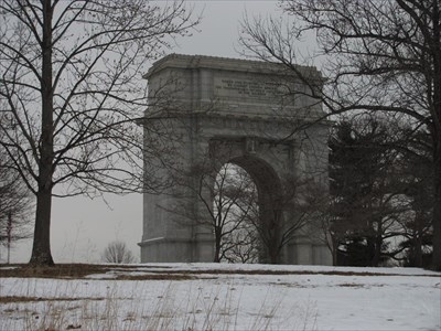 The National Memorial Arch Valley Forge National Historical Park King Of Prussia