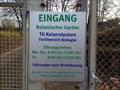 Image for Botanic Garden, University Kaiserlautern - Germany