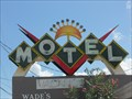 Image for Wade's Motor Inn Sign - Titusville, FL