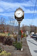 Image for Black Mountain Town Clock - Black Mountain, NC